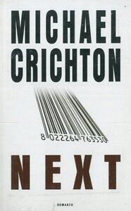 NEXT - Michael Crichton - Italia - NEXT - Michael Crichton - Italia