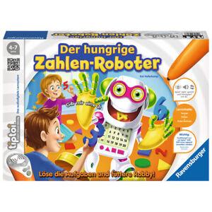 RAVENSBURGER Tiptoi® Der hungrige Zahlen-Roboter Lernspiel Kinderspiel Rechnen