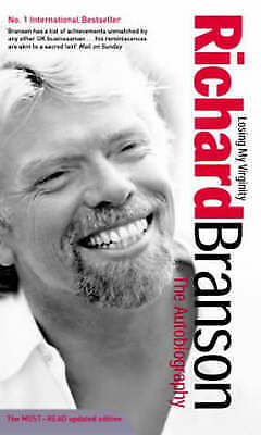 Losing My Virginity: The Autobiography, Branson, Sir Richard | Paperback Book |