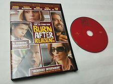 Burn After Reading (DVD, 2008) free shipping