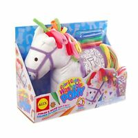 Alex Toys Craft Color And Cuddle Pony Soft Toy , New, Free Shipping
