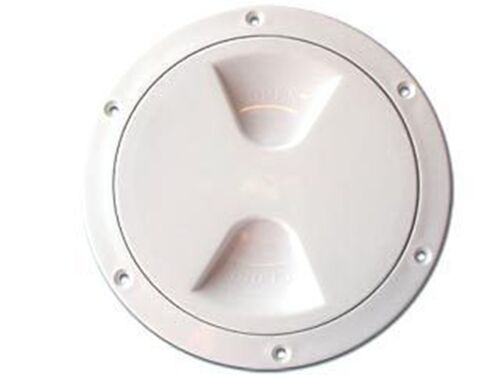 "NAUTOS 13.296 INSIDE DIAMETER 4/"" // 102 MM PLASTIC DECK PLATE UV RESISTANT"