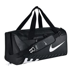 6b966d6c5605f Das Bild wird geladen Sporttasche-NIKE-Alpha-Adapt-Teambag-Crossbody-schwarz -L-
