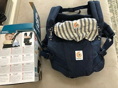 baby infant car seat carrier handle cushion lime green chevron with navy blue mi