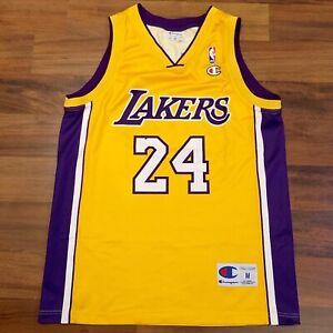 Champion NBA Euro Cut Kobe Bryant Los Angeles LA Lakers Jersey ...