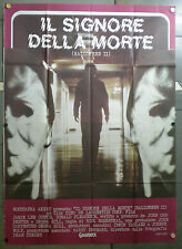 QI17 HALLOWEEN 2 JAMIE LEE CURTIS HORROR AWESOME ORIG 4sh POSTER ITALY