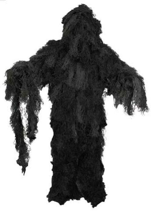 Camuflaje  ghillie suit noche Tarn traje Night camuflaje chaqueta pantalón sombrero talla XL XXL  grandes precios de descuento