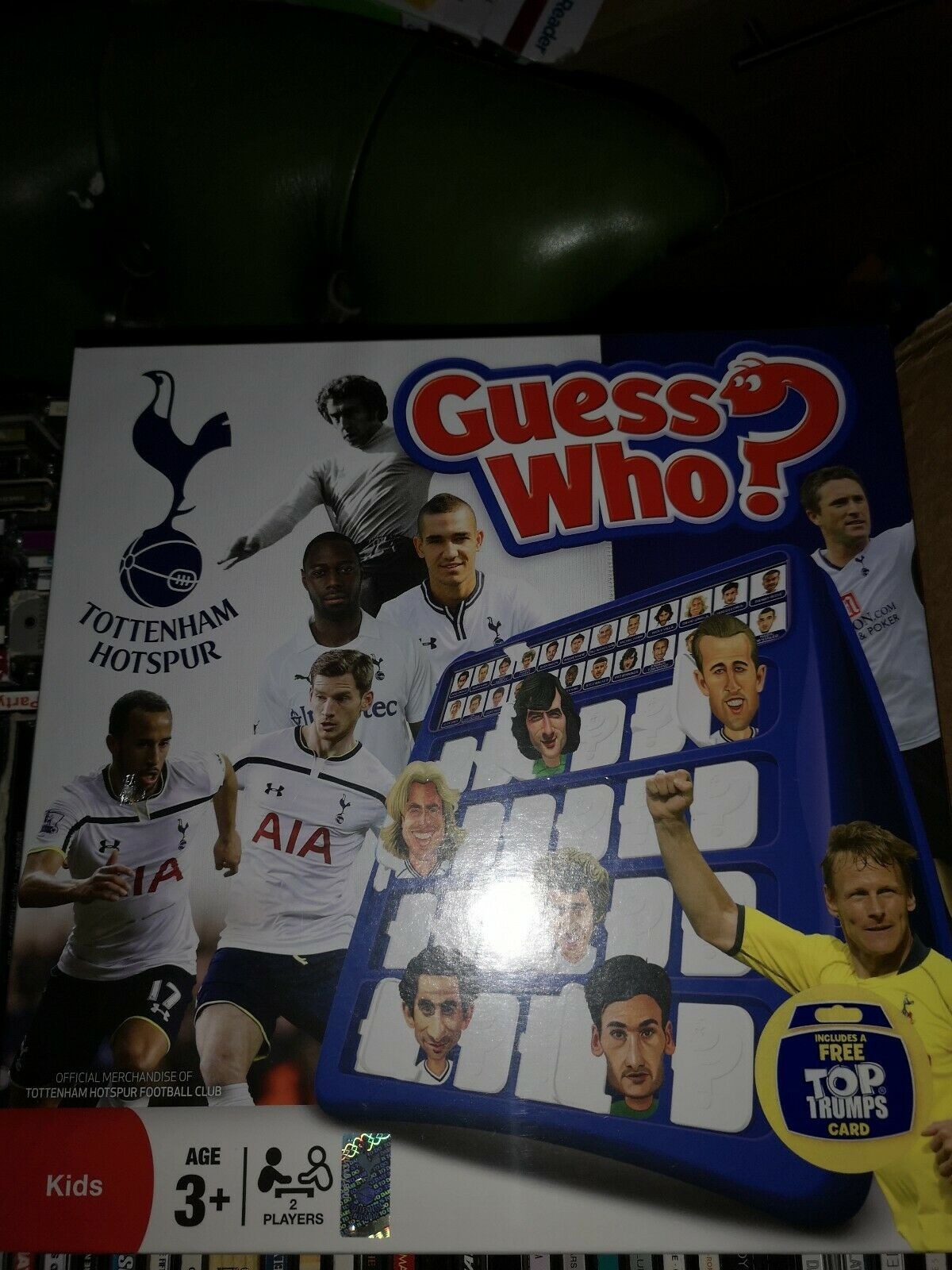 Tottenham Hotspur Spurs Guess Who Board Game NEW