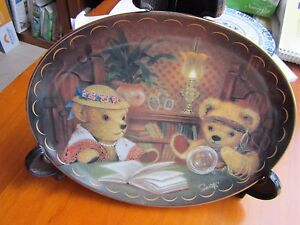 Franklin-Mint-Heirloom-Royal-Doulton-Collector-Plate-BEAR-VOYANT