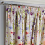 HAMPSHIRE-Floral-Printed-Lined-Ready-Made-Tape-Top-Pencil-Pleat-Curtains-Pair thumbnail 2