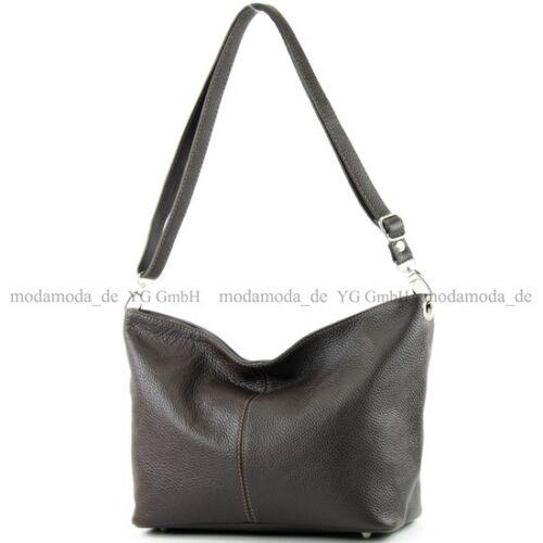 ital Ledertasche Damentasche Umhängetasche Tasche Schultertasche Leder T157