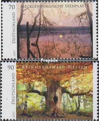 Fr Germany 3341-3342 Mnh 2017 Wild Germany Europe Stamps