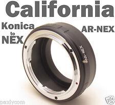 Konica AR Lens to Sony NEX NEX7 NEX5N NEX3 NEX5 NEX-VG10 E Mount Ring Adapter