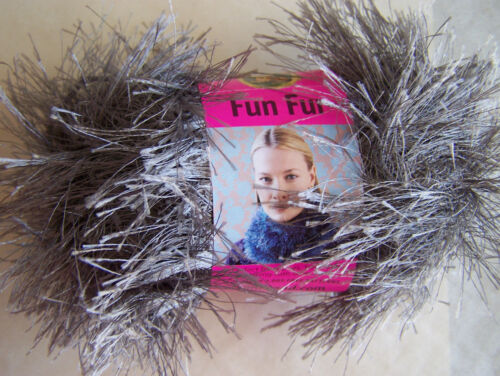 Fun Fur Yarn 1 skein choice of color