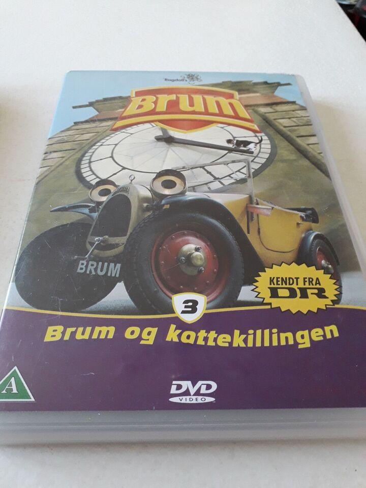 Brum, DVD, andet