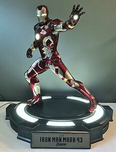 Cinemaquette 13 Scale Iron Man Mark 43 Avengers Age Of Ultron 47