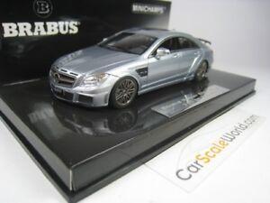 Brabus Rocket 800 2012 - Mercedes Benz Cls 63 Amg 1/43 Minichamps (argent)