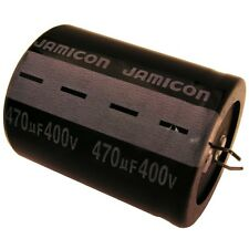 Elko Kondensator Jamicon LP 400V 470uF RM10 35x45mm 85°C Snap-in 054425