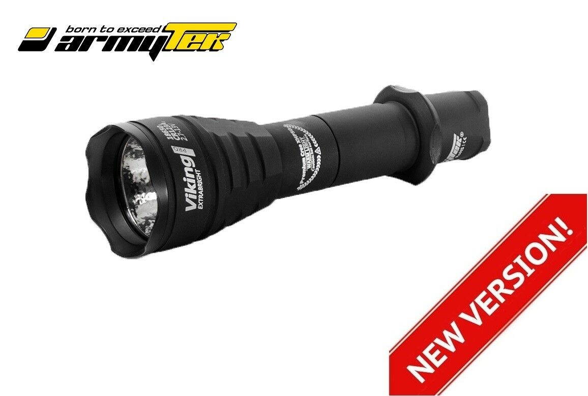 Nuevo ARMYTEK Viking Pro v3 XHP50 2300LM LED Linterna Antorcha (Nueva versión)