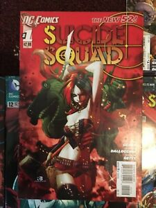 Suicide-Squad-New-52-LOT-0-1-5-8-12-13-15-All-in-Great-Shape