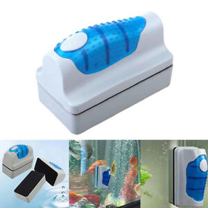 Magnetic Aquarium Fish Tank Glass Cleaner Aquatic Algae Cleaning Magnet Brush Pet Supplies Fish & Aquariums