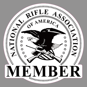 2018 NRA National Rifle Association Member vinyl sticker decal Ships from US