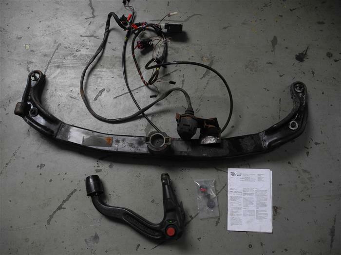 Für Mitsubishi Outlander 10.2012-10.2020 AUTO HAK Anhängerkupplung abnehmbar neu