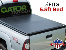 For 2014-18 Toyota Tundra SR5 LTD CrewMax 5.5ft ShortBed Tri-Fold Tonneau Cover