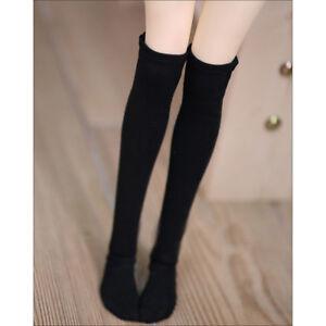 Black Grey stripe Socks thigh stocking MSD 1//4 BJD Doll Mini Super Dollfie