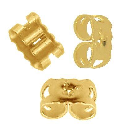LARGE 6mm 925 Sterling Silver Earring Backs Scrolls Butterfly Scroll NVL003X