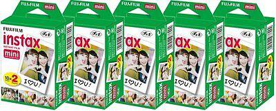 Fujifilm Fuji Polaroid Instax Mini Film Plain White 7 7s 8 10 20 25 50s 90 SP-1
