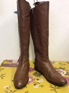 Brown ginocchio Leather Stivali al Trim Bucle Costo Joules 6 Merstone 175 Misura 39 £ X0wCxp5nq