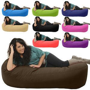 5ft-150cm-SOFA-BED-Beanbag-Outdoor-Garden-XL-Chair-HUGE-Bean-Bag-Gilda