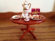 Dollhouse Miniature Cookies for Santa Table Set Reutter Porzellan Retired GERMAN