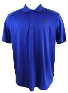 Men-039-s-The-North-Face-Flash-Dry-Polo-Golf-Short-Sleeve-SHIRT-SZ-XL-Blue