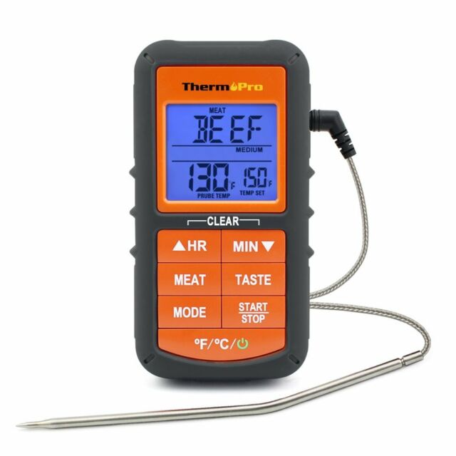 ThermoPro Digital Meat Probe Cooking Thermometer Grilling, BBQ, Oven, Smoker