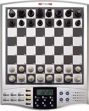 Millennium Omega French Talking Chess Trainer Computer Model M123 Electronic Set