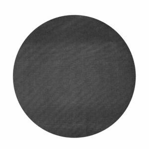 BBQ Grill Mats - Non Stick Barbecue Grilling Accessories 40cm Round Black