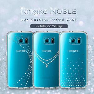 Galaxy S6 S6 Edge Case Genuine RINGKE Noble Swarovski Crystal Cover ... 5768d1ddec64