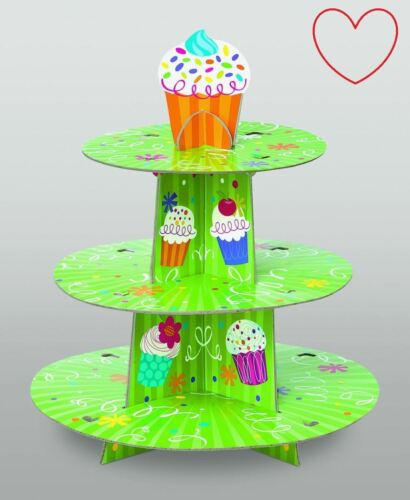 3 Tier Cup Cake Tree Stand dessert Baby Shower Display Décoration