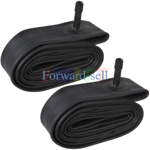 """2 x 26/"""" inch Bike Inner Tube 26 x 1.75-2.125 Bicycle Rubber Tire Interior BMX"""