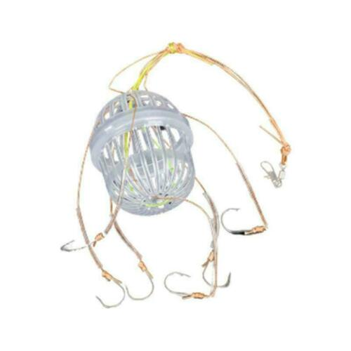 Explosion Hook Fishing Hook Sets Feeding Terminal Feeder Strong Tackle D0Z7