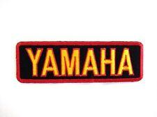 YAMAHA Motor Biker Racing Embroidered Sew Patch Badge Fabric Craft Bag Applique