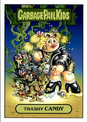 2019 GPK Scratch /& Stink DURIAN IAN 1b Green Garbage Pail Kids