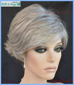 Avery-Estetica-Classique-Synthetic-Short-Wig-Color-R51LF60-Grey-MAKE-BEST-OFFER