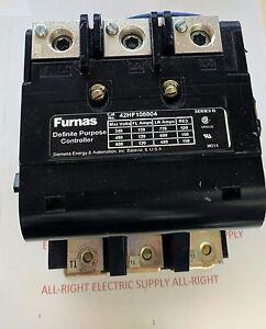 FURNAS SAME AS SIEMENS CONTACTOR 42HF108804 SER B 600Vac 120A 48V COIL