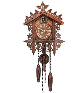 Vintage-Wood-Cuckoo-Clock-Wall-Room-Decor-Cartoon-Forest-House-Swing-Clock