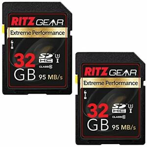 Ritz-Gear-Extreme-Performance-SD-32GB-U3-Class-10-SDHC-Memory-Card-2-Pack