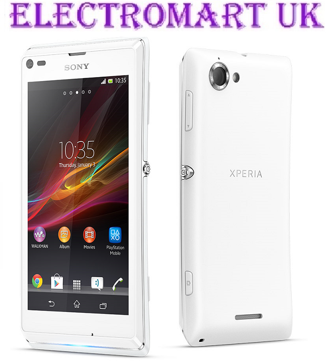 NEW SONY XPERIA L DUMMY HANDSET DISPLAY MOBILE PHONE WHITE