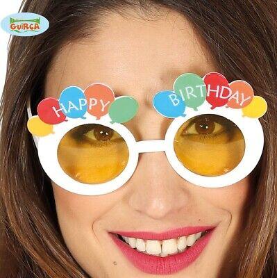 Brillante Novita 'happy Birthday Costume Occhiali Regali Di Compleanno Bicchieri Fg-mostra Il Titolo Originale Gradevole Al Gusto